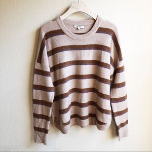 Madewell Striped Sweater Size Medium